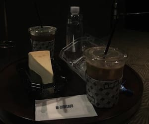 dark, aesthetic, and food image