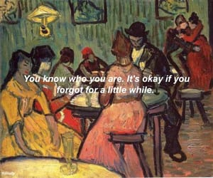forget, painting, and quotes image