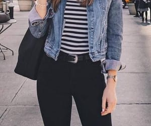 black, jean, and jeans image