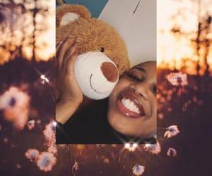 bear, girl, and happy image