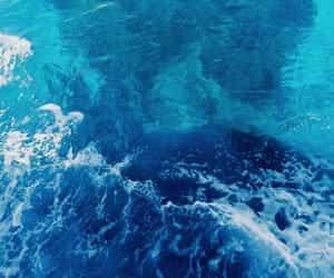 sea, ocean, and water image