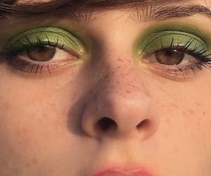 green and makeup image