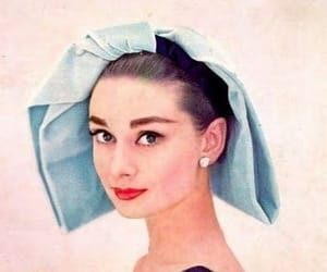 aesthetic, audrey hepburn, and blue image