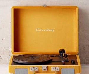 yellow, music, and aesthetic image