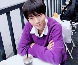 iced coffee, idol, and purple image