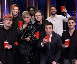 jimmy fallon, new, and luke hemmings image