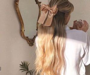 aesthetic, blonde, and girl image