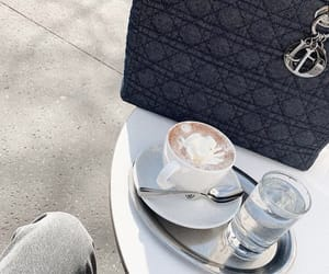 bag, coffee, and drinks image