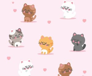 cats, wallpaper, and luxury image
