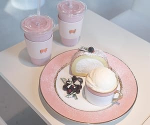 dessert, aesthetic, and pink image