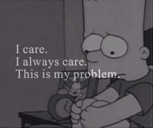 problem, care, and sad image