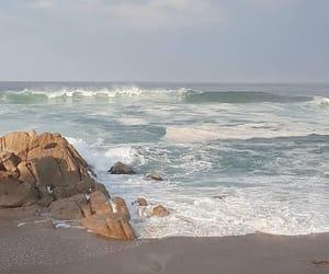 ocean, beach, and aesthetic image