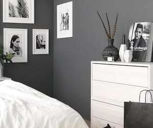 Blanc, Chambre, and grey image
