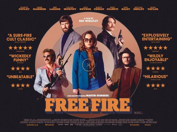 movie, poster, and free fire image