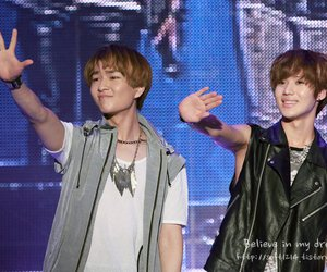 leader, Onew, and Taemin image