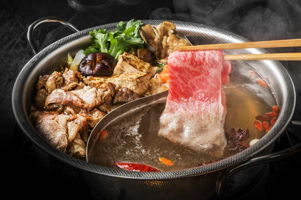 chinese food, asian food, and hotpot image