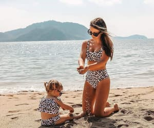 adorable, daughter, and mother image