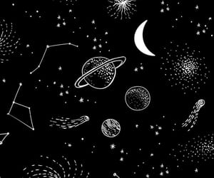 wallpaper, space, and moon image