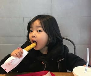 baby, food, and korean image