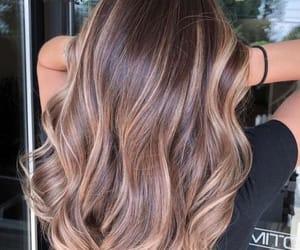 bangs, hairstyles, and highlights image