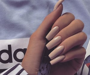 acrylic, tumblr inspo, and nails goals image