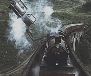 harry potter and train image