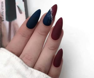 nails, fashion, and beauty image