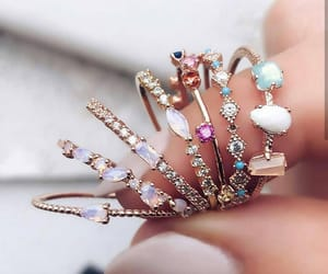rings, jewelry, and fashion image