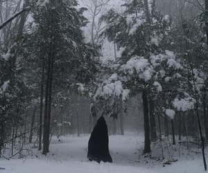 cold, eerie, and dark image