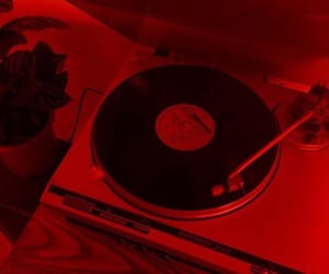 aesthetic, grunge, and red image