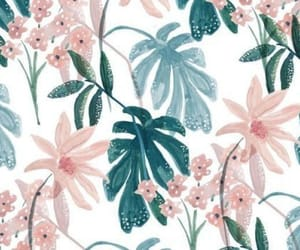 wallpaper, art, and flowers image
