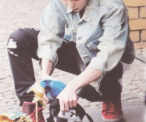 exo, idol, and singer image