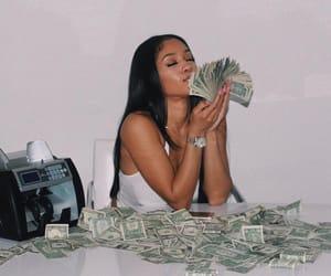 girls, hair, and money image