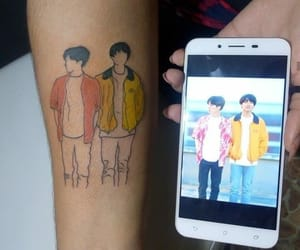 tattoo and bts image
