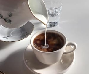 coffee, milk, and tea image