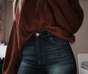 outfit, jeans, and cute image