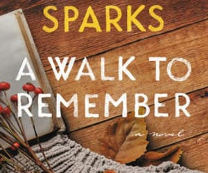 books, cover, and nicholas sparks image