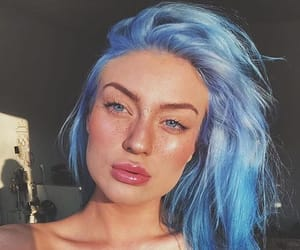 blue, blue things, and blue hair image