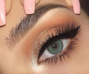 beauty, fashion, and green eyes image