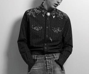 b&w, black and white, and timothee chalamet image