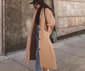 bag, cardigan, and chic image