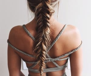 blonde, braid, and tumblr image