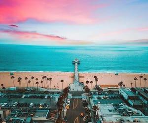 beach, cali, and california image