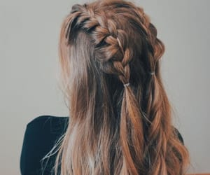 braids, french, and long image
