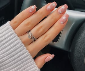 nails, stars, and white image