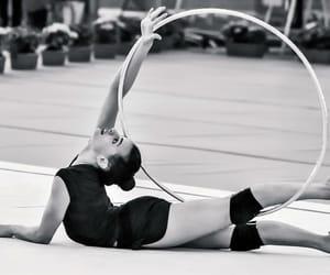 hoop, rhythmic gymnastics, and ahsram image