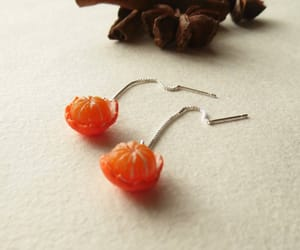 silver earrings, gift for her, and etsy image