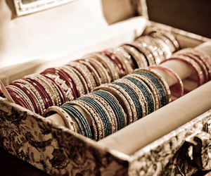 bangles, blue, and colours image