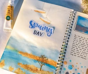 journaling, journal, and stationery image