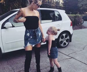 babies, cars, and daughter image